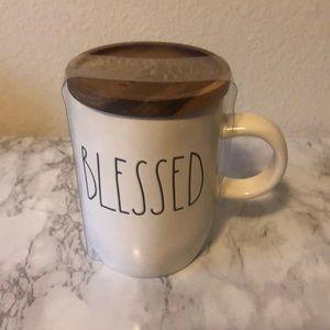 Rae Dunn Blessed Mug with Lid